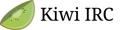 Kiwi IRC - A versatile web based messenger using IRC